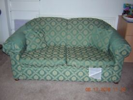Green sofabed in very good condition