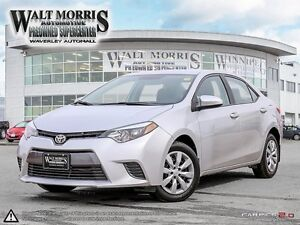 2016 Toyota Corolla LE (CVT)- HEATED SEATS, REAR VIEW CAMERA