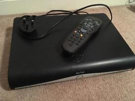 Sky+HD box with remote