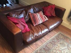 2+3 leather sofa set