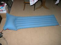 Camping Inflatabel Mattres Single 1680mmby 470mm Weymouth
