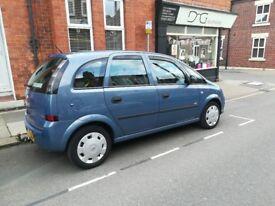 Vauxhall Meriva 2008,1,6 petrol,easy tronic