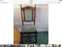 SOLID OAK WOIDEN DINING CHAIRS
