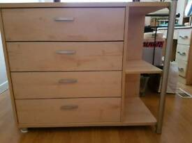 Chest of drawers with shelf unit by Gautier of France