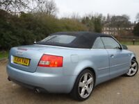 !!! AUDI A4 1.8 T SPORT CONVERTIBLE/CABRIOLET 2004 PLATE !!! LEATHERS