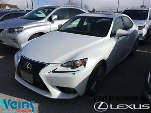 2015 Lexus IS 250 LEATHER|MOON ROOF|LOW LOW KM