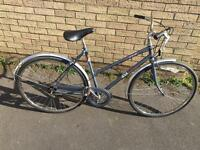 BSA Metro Ladies Town Bike 1991. Great condition for age. Serviced, Free D-Lock, Lights, Delivery