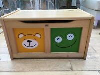 John Crane Four Friends Children's Toy Chest, from John Lewis
