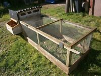 Chicken coop poultry house on wheels