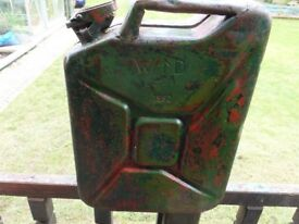 1952 Jerry can with pouring spout