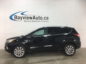 2017 Ford Escape Titanium - SYNC! PWR LIFTGATE! PANOROOF! HTD...