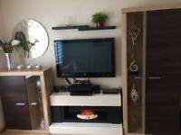 Living room furniture and Plasma TV