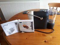 Lavazza jolie coffee machine and 9 free capsules