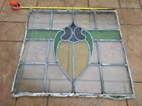 Lead glass window vintage