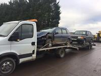 Vehicle recovery salvage collections