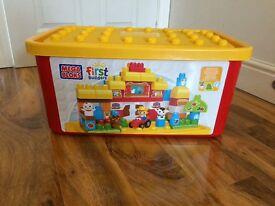 Very large MEGA BLOCKS box