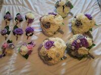 Brand new unused wedding flowers!