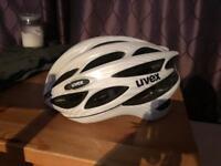 Uvex road helmet