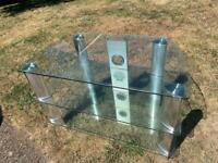 Glass TV Unit - Free to pickup