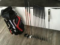 Full set of Ping golf clubs