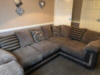 Left hand DFS corner with chair & footstool