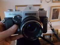 Vintage Cosina Hi Lite camera with case will post uk wide
