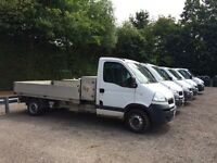 VAUXHALL MOVANO 2.5 DIESEL TIPPER AND DROPSIDE TRUCKS 2007/2008 FULL SERVICE HISTORY CHOICE OF 12