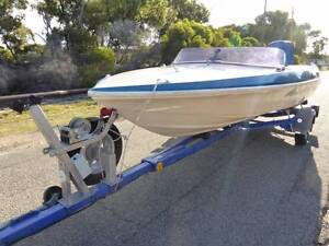 Allrounder Boat (Cruising, Water Skiing, Wake boarding, Fishing) Beaconsfield Fremantle Area Preview