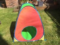 'Kid Active!' Childs sun play tent