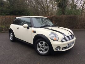 2008 Mini One 1.4 AUTOMATIC White. 87k. FSH. MOT to March 2019 Great Condition!