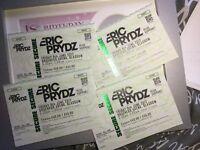 4 Eric Prydz Tickets