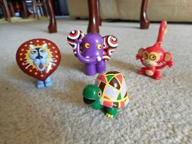 COMPLETE SET OF TINGA TINGA TALES FIGURES