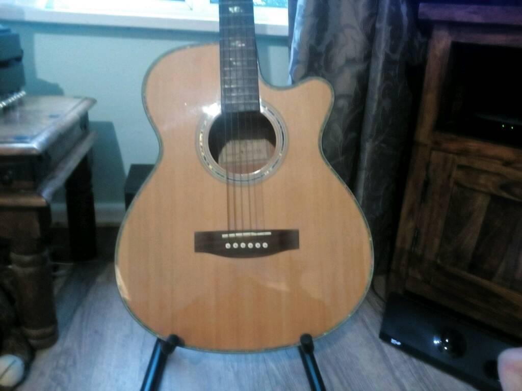 Martin Smith guitar(w-401en)