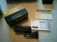 Genuine Nikon MBD14 battery grip D600 D610