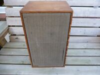 DYNACO SCAN-DYNA A25X VINTAGE 1970'S SPEAKERS + STANDS(RARE)