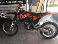 2013 ktm sxf250 road registered with electric start