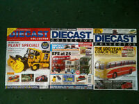 3 Back Issues/Copies of Diecast Collector