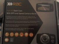 Rac full hd dash cam with gps brand new