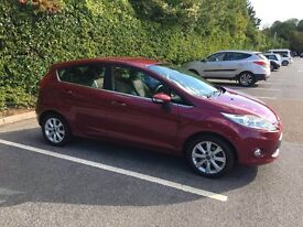 Ford fiesta 1.6 TDCI ZETEC 5dr 1YR MOT (2 LADY OWNERS IMMACULATE CONDITION)