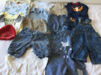 Baby boy's clothes (0-6 mth), all in perfect condition