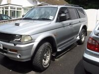 2000 Model Mitsubishi challenger 2.4 diesel MOT/DEC 79000 MILES part x welcome