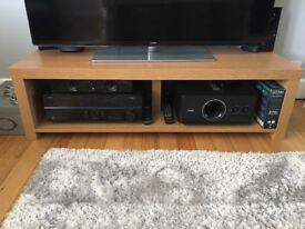 Oak coloured TV unit
