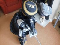 TITLEIST DC1 OVERSIZE IRONS 3 TO SW, WOODS, BAG ECT.