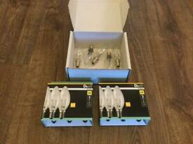 Dial Halogen 30 Watt Candle Bulbs