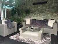 High end Rattan Garden Furniture with coffee table