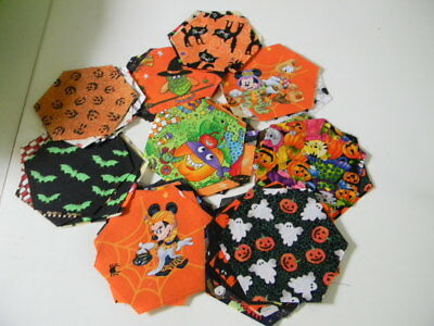 Halloween Hexagon charm pac.  50. Perfect for I Spy Quilt - I Spy Halloween