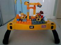 Cat mega bloks table