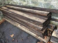 Large quantity of decking boards.