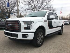 2016 Ford F-150 LARIAT,ROOF,LEATHER,APPEARANCE PKG.,NAV
