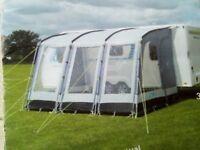 Kampa Rally caravan awning.